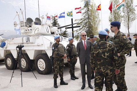 rey_viaje_libano_20150408_il re Filippo VI in visita a UNIFIL_Ph Casa Real