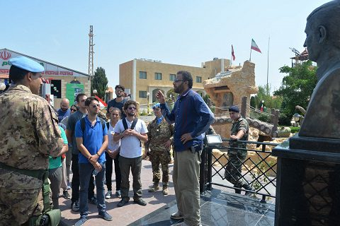 20150805_studenti LUISS_Sector West UNIFIL Libano_Esercito Italiano (1)