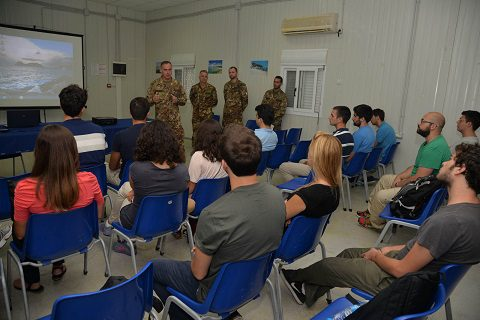 20150805_studenti LUISS_Sector West UNIFIL Libano_Esercito Italiano (8)